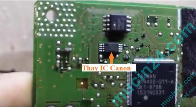 reset may in canon bao loi 5b00 - Reset Canon G1000-G2000-G3000 báo lỗi 5B00 tràn mực thải